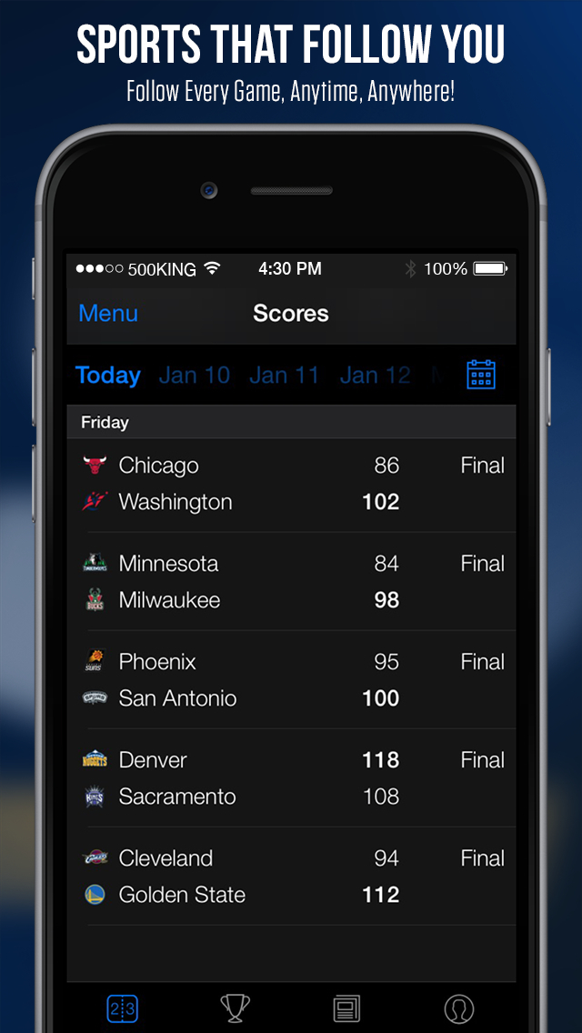 theScore: Sports News & Scores screenshot 3