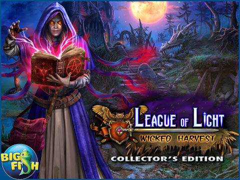 League of Light: Wicked Harvest HD - A Spooky Hidden Object Game (Full) screenshot 5