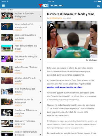 Telemundo62 screenshot 9