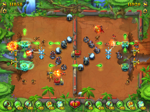 Fieldrunners for iPad screenshot #4