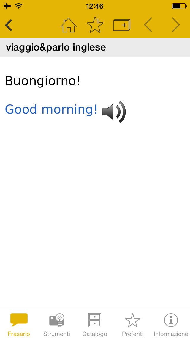 viaggio&parlo – Mondadori Langenscheidt frasario multilingue con audio screenshot 4