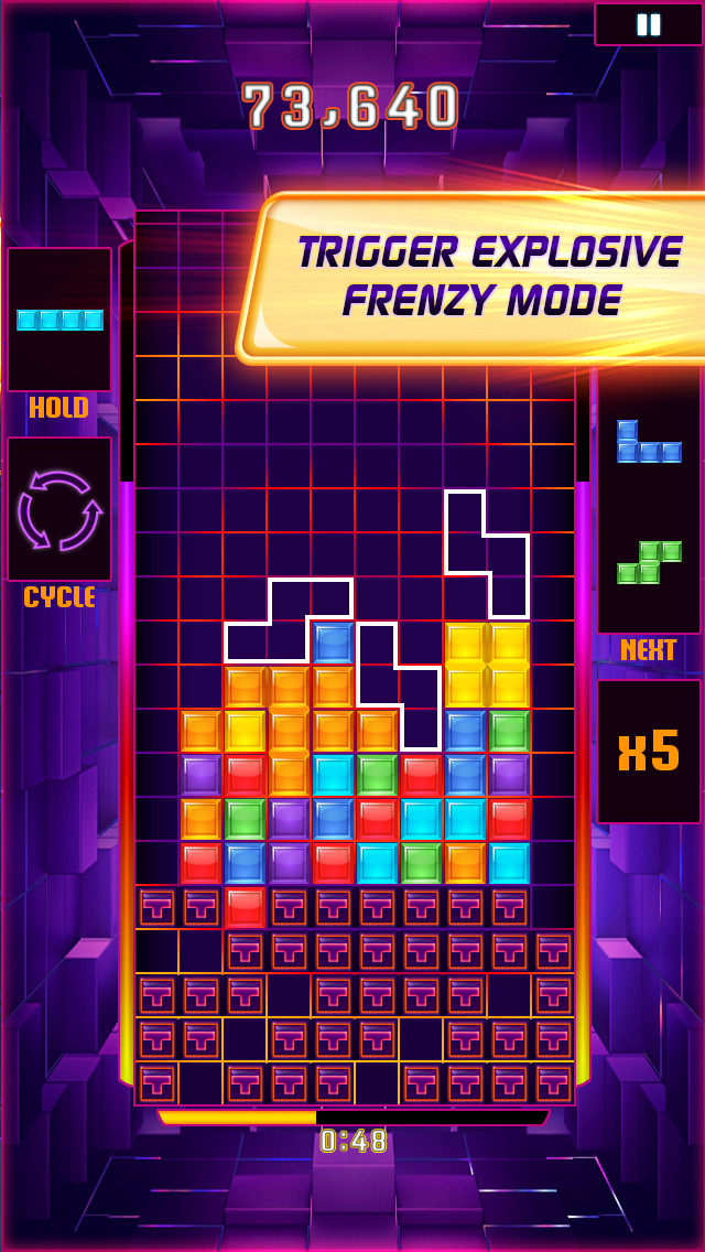 Tetris® Blitz screenshot #1