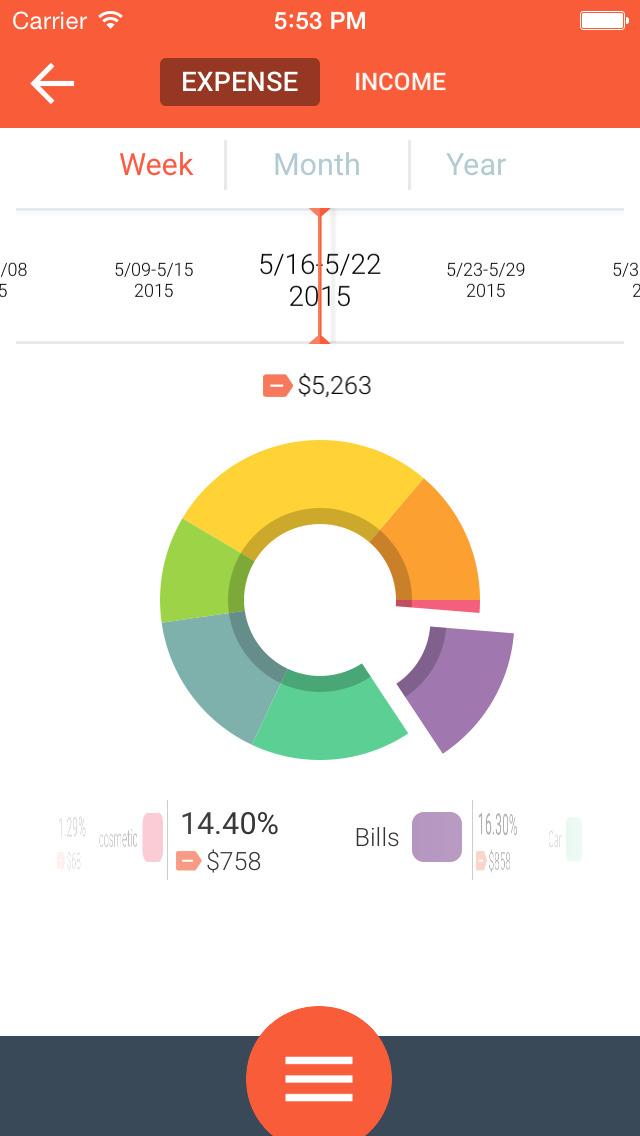 Life Budget - Personal Finance & Money Management screenshot 4