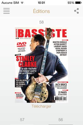 Bassiste Magazine - náhled