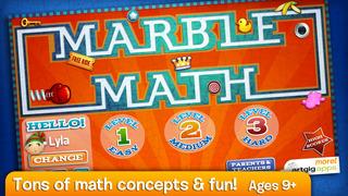 Marble Math screenshot 1