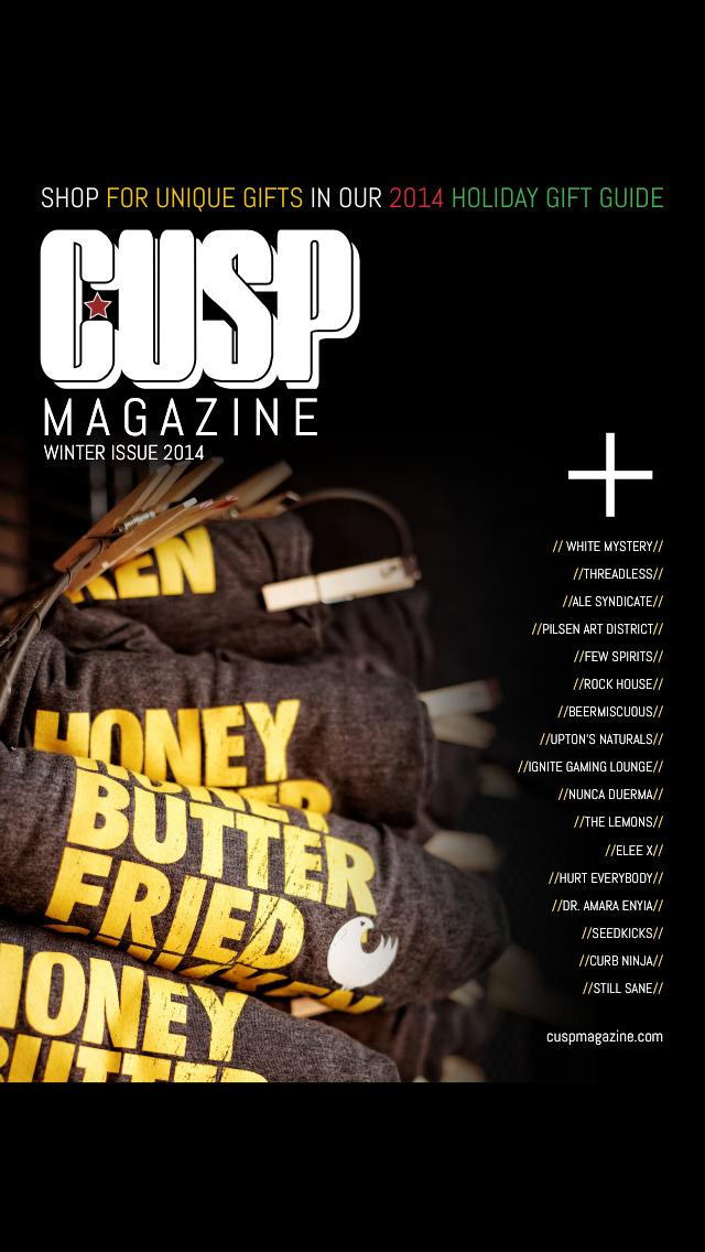 CUSP Magazine screenshot 1