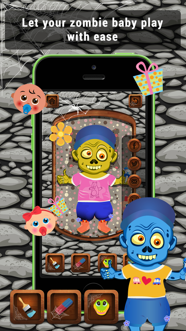 Baby Zombie Care screenshot 3