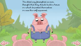 The three little pigs - Multi-Language book screenshot 4