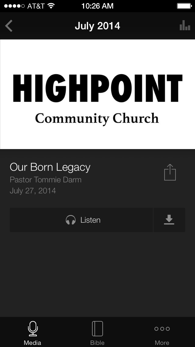 HighPoint Community Church screenshot 3