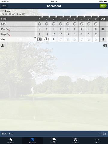 Orr Lake Golf Club screenshot 8
