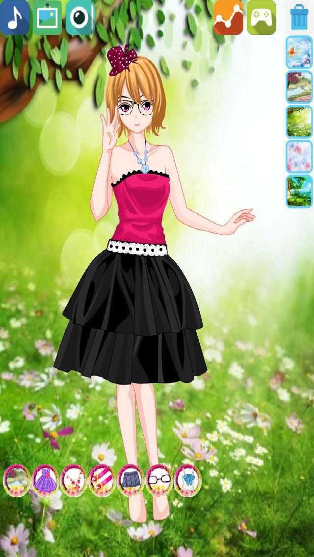 Hanayamata Dress screenshot 3