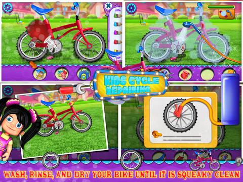 Kids Cycle Repairing screenshot 4