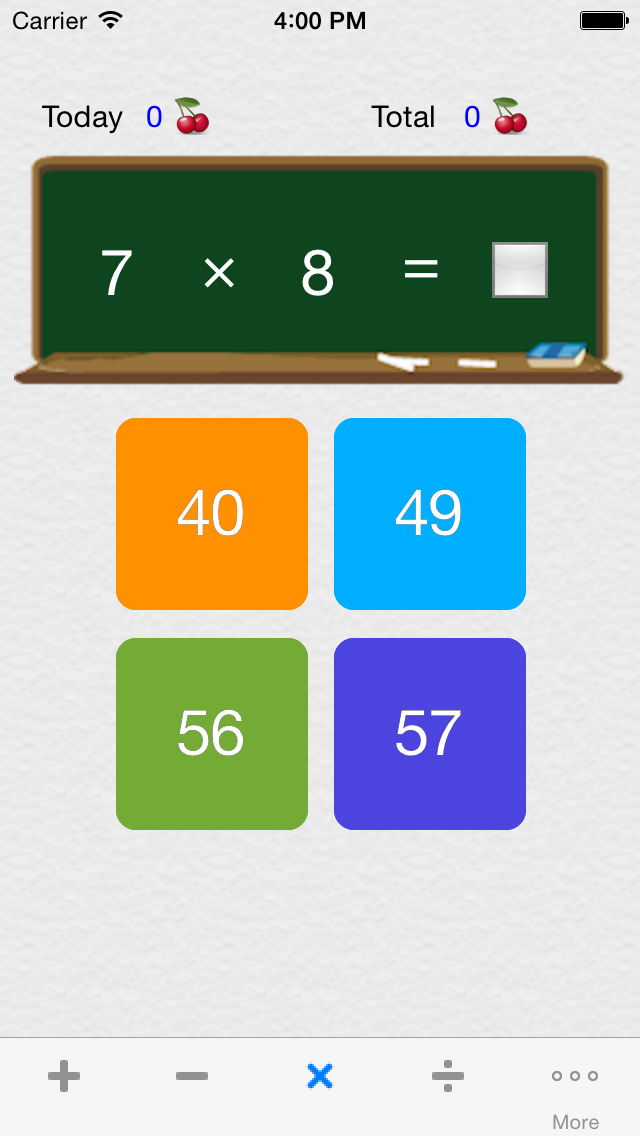Icebreaking Math - plus, minus, multiplication, division, 9 by 9, 12 by 12, 19 by 19 screenshot 2