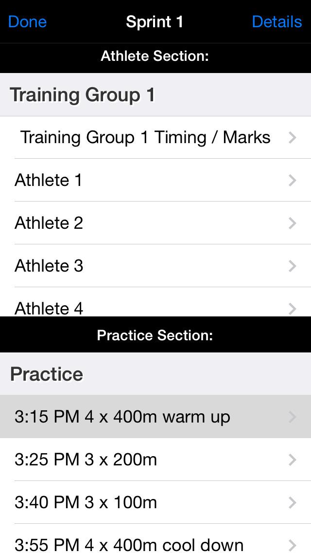 Track Coach Elite screenshot 1