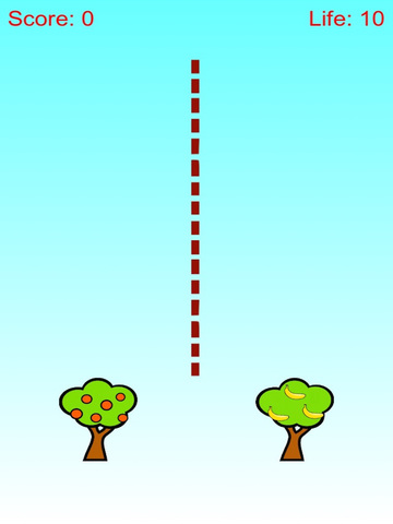 Apple and Banana Defense - Tree Shoot Fruit Free screenshot 4
