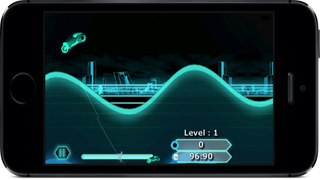 Neon Lights Race : Electronic Moto Chase War screenshot 4