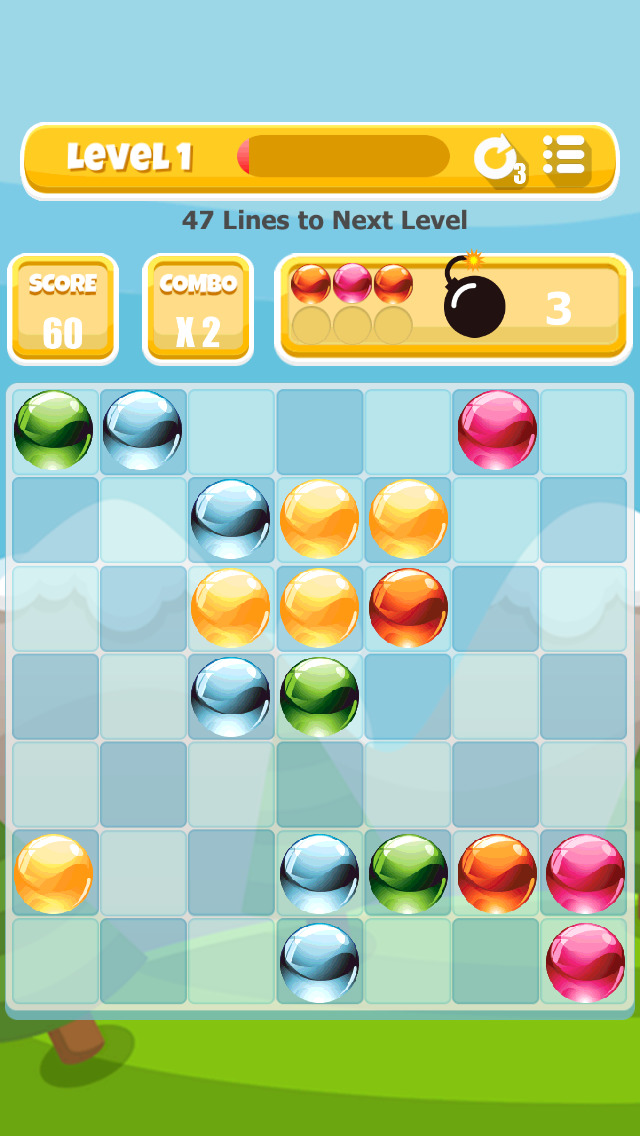 A Bubble Pop Match-4 Game screenshot 2
