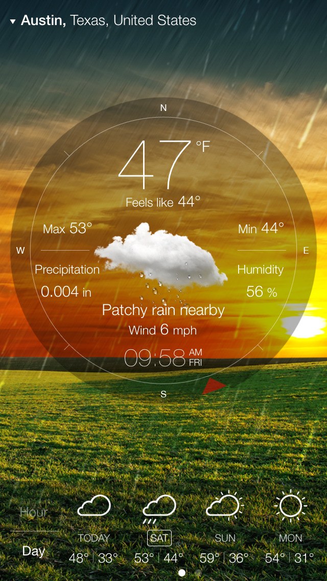 Weather Live゜ screenshot 3