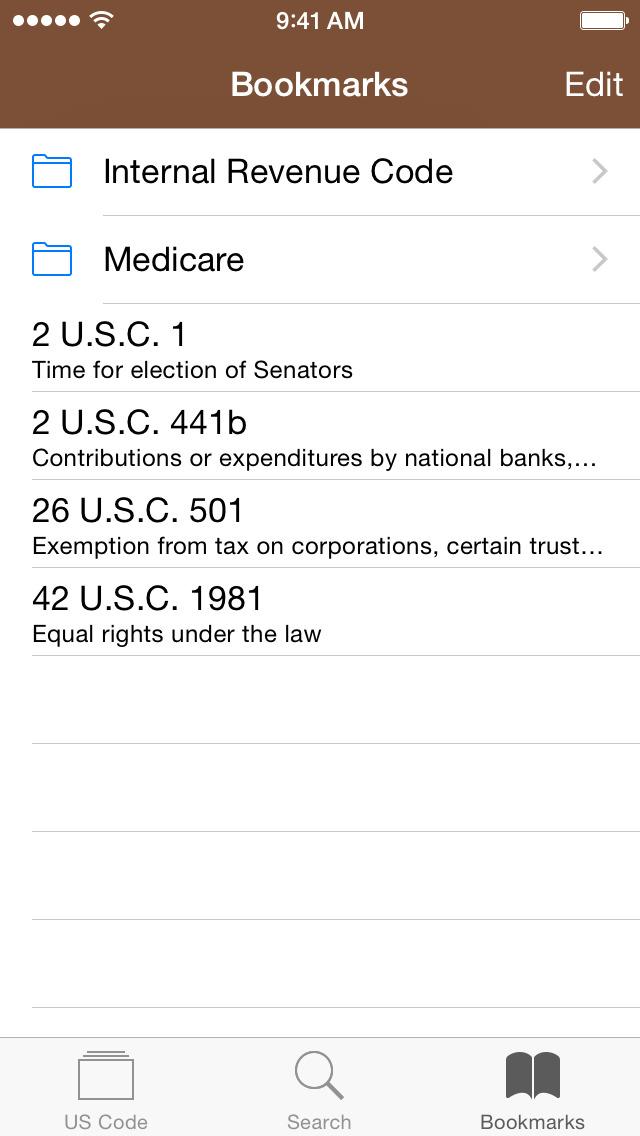 Codification (U.S. Code) screenshot 5