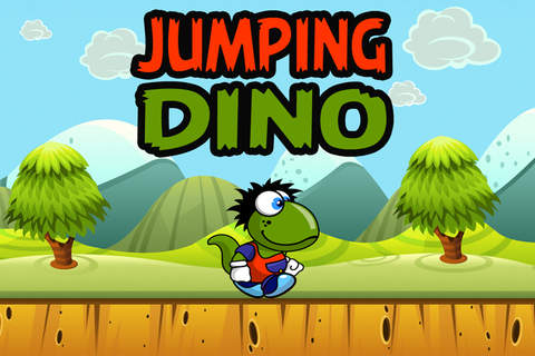 Jumping Dino's Adventure - náhled