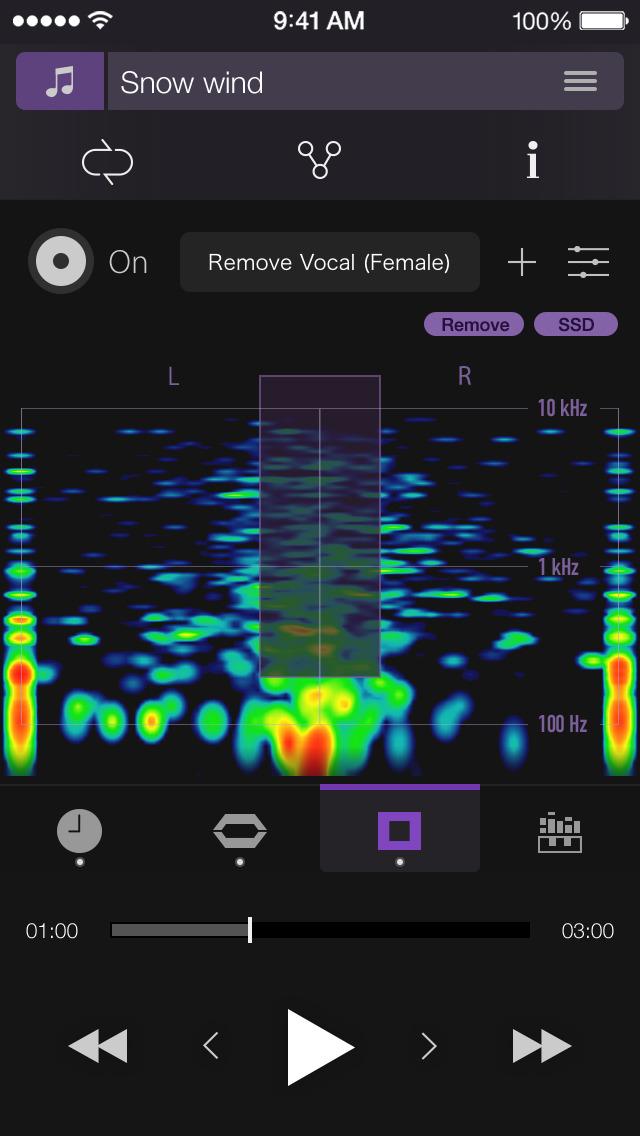 PSOFT Audio Player screenshot 3