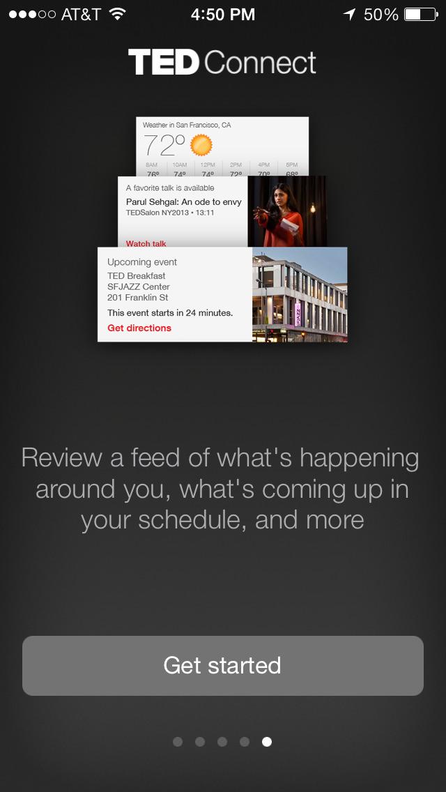 TEDConnect screenshot 5