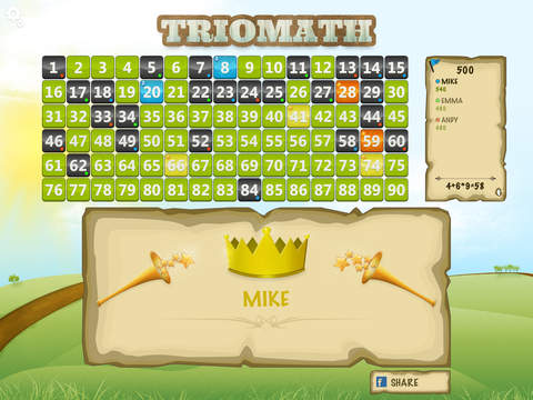 Trio Math Free: Fun Educational Counting Game for  - náhled