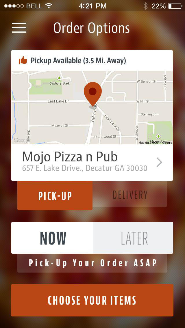 Mojo Pizza screenshot 2