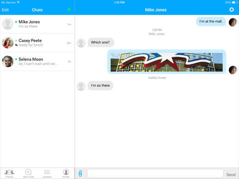 AIM: Chat, Free Text, Photo Share, Voice Message screenshot 8