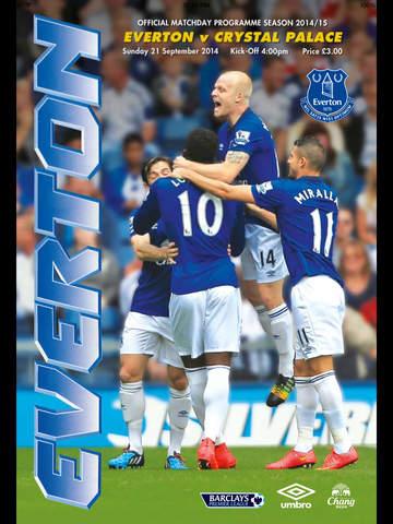 Everton Programmes screenshot 6