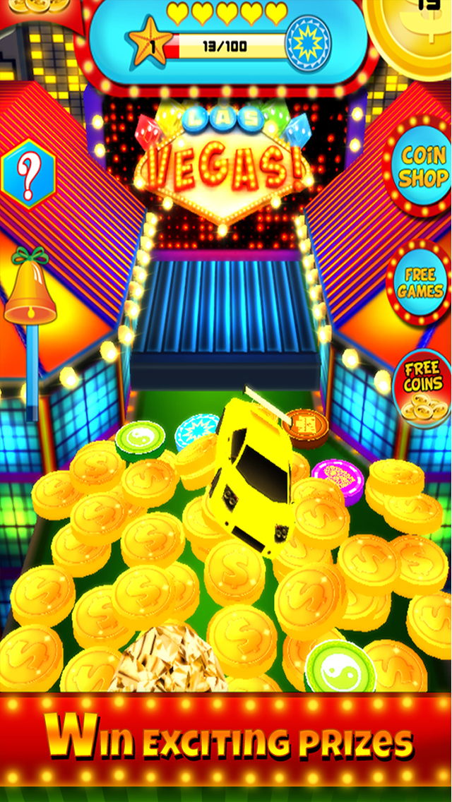 `Ace Coin Casino Dozer - Las Vegas Style screenshot 1