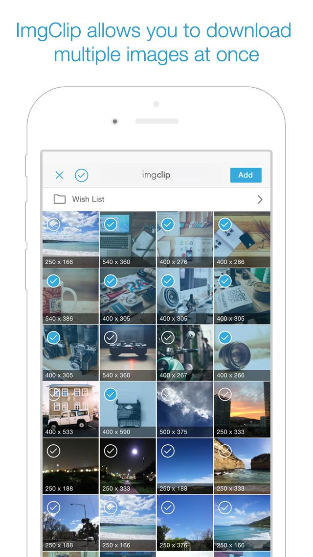 ImgClip - Web Image Downloader screenshot 2