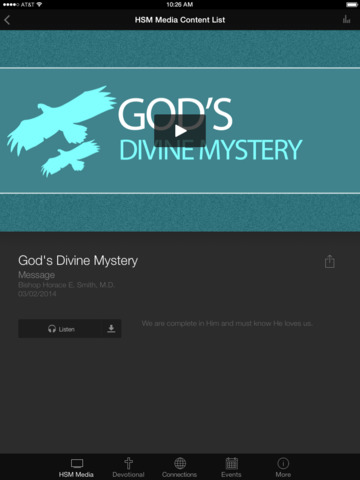 Horace Smith Ministries screenshot 6
