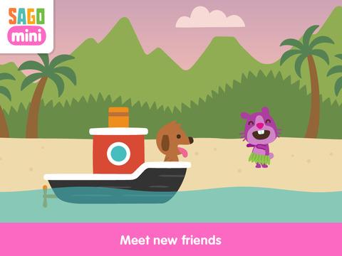 Sago Mini Boats screenshot 9