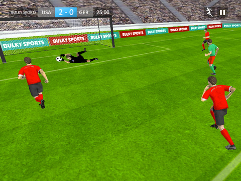 Soccer 2015 - Real football game with super soccer matches and tournament [Premium] screenshot 9