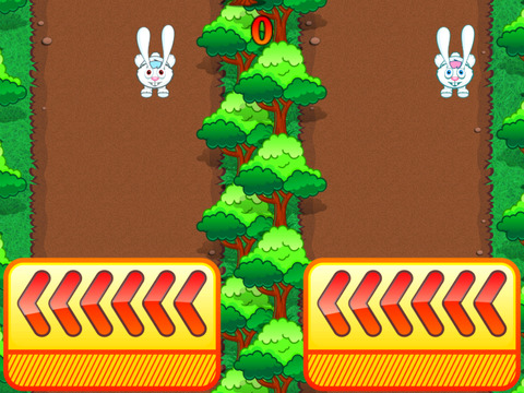 Rabbit Rush Run screenshot 2