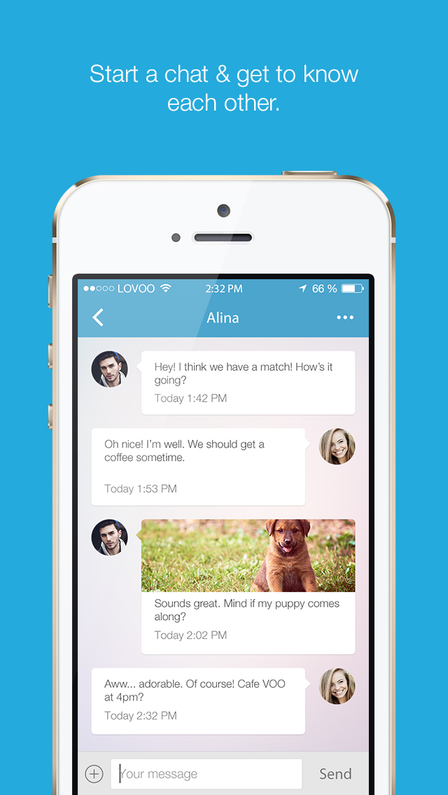 VOO Dating App - free fun match for LOVOO for men and