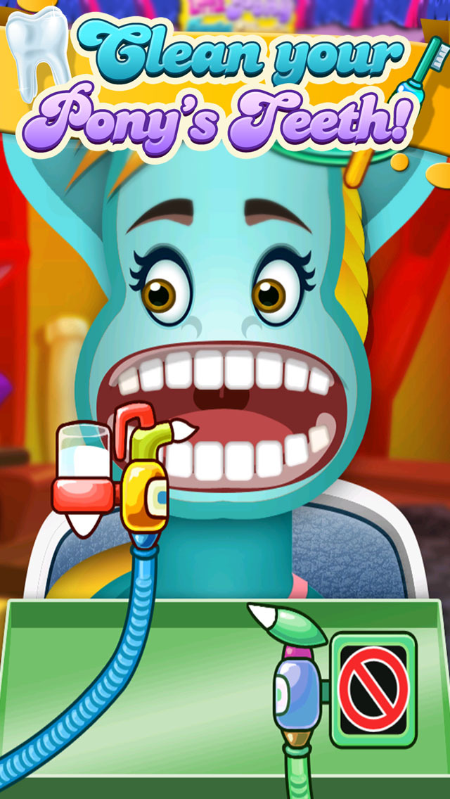 ' A Little Pony Dentist Magic Tooth Doctor - Teeth Fixer Game screenshot 4