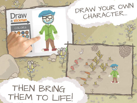 Draw a Stickman: EPIC HD Free screenshot 2