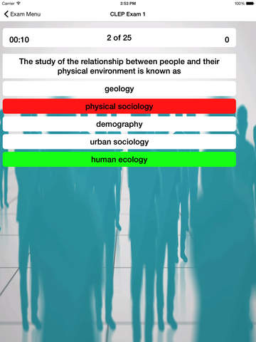 CLEP Sociology Buddy screenshot 8