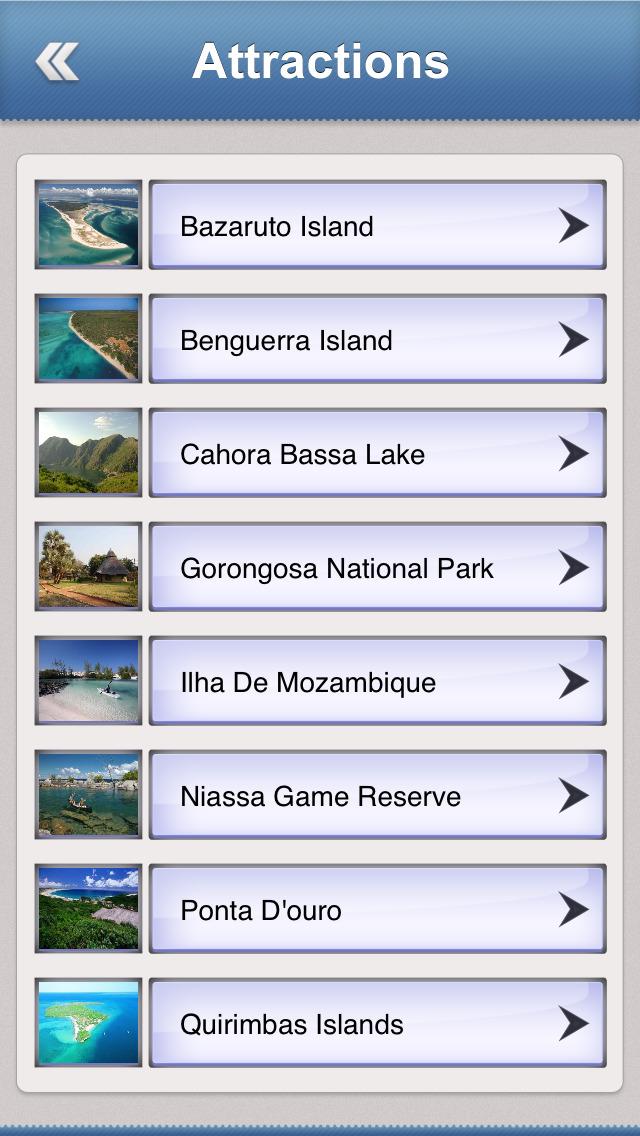 Mozambique Essential Travel Guide screenshot 3
