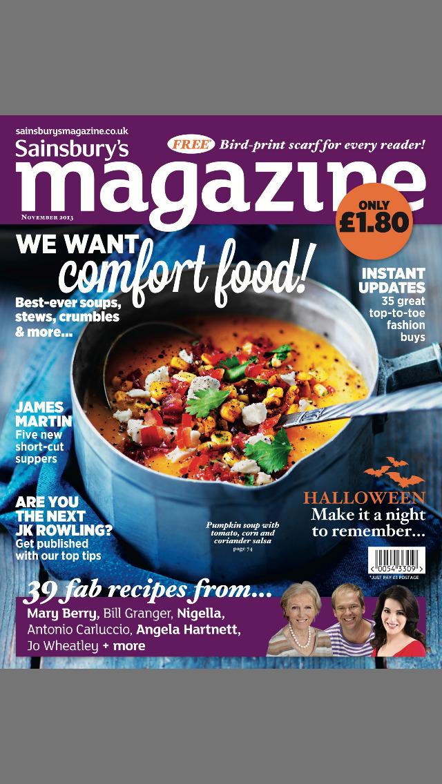 Sainsbury's Magazine screenshot 1