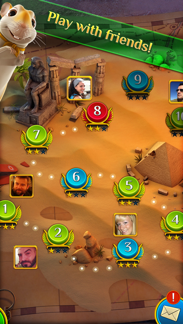 Pyramid Solitaire Saga screenshot 3