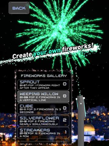 Word Fireworks: Learn Hebrew! screenshot 7