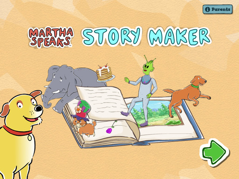 Martha Speaks Story Maker screenshot 6
