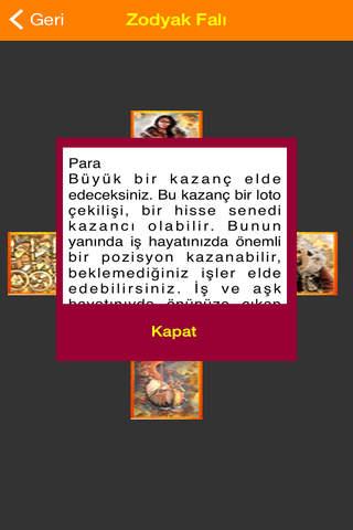Zodyak Falı - náhled