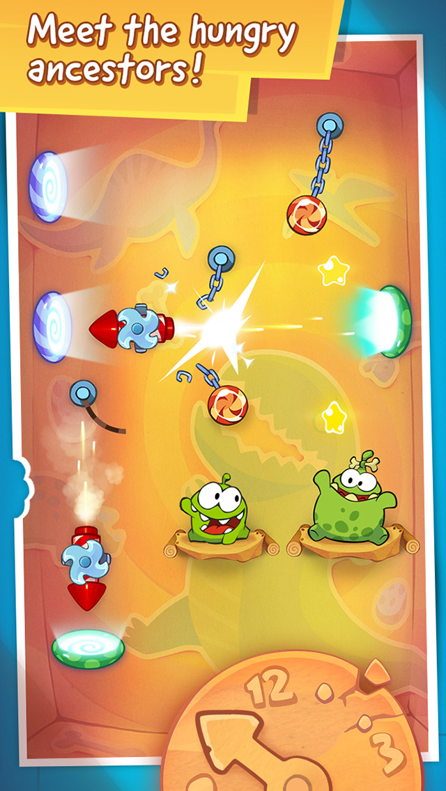 Cut the Rope: Time Travel GOLD screenshot 4