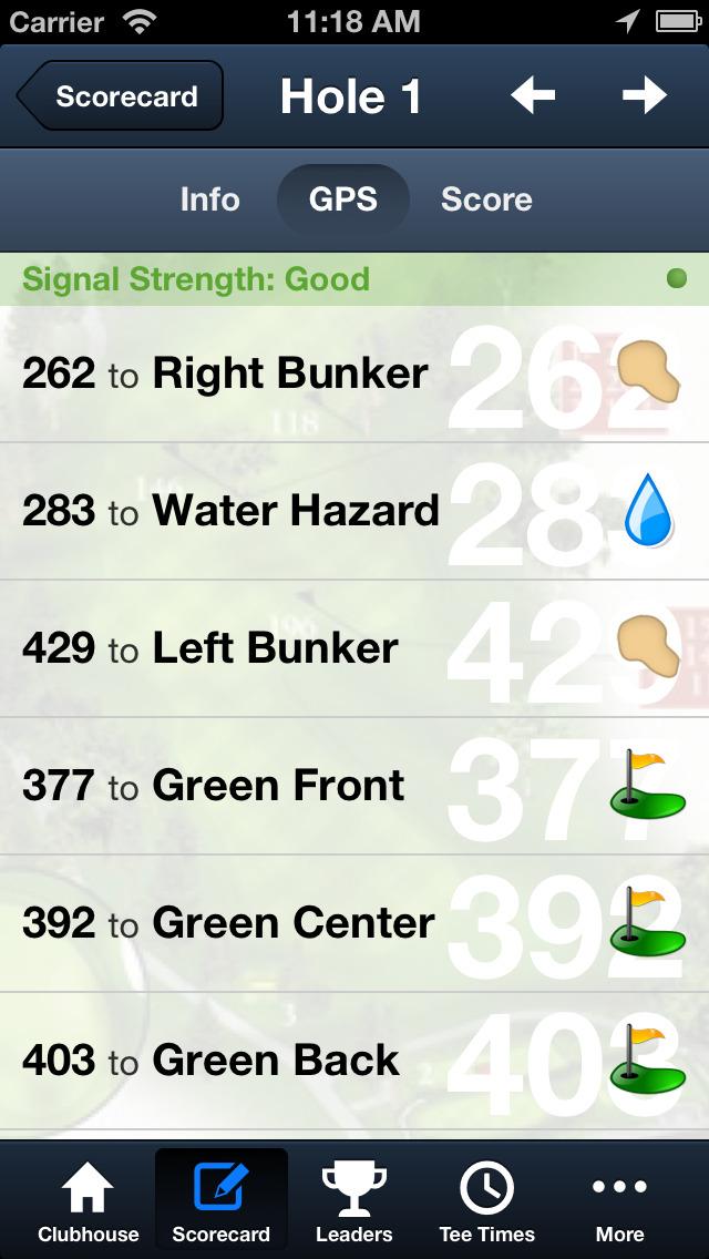 Park Hyatt Aviara Golf Club screenshot 5