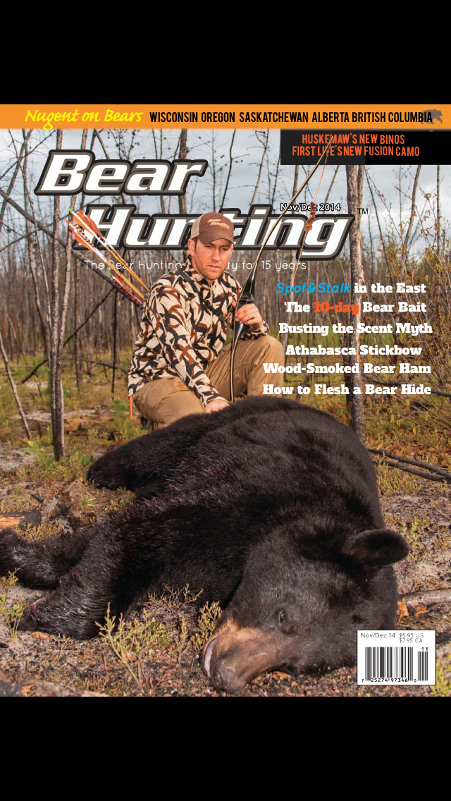 Bear Hunting Magazine screenshot 1