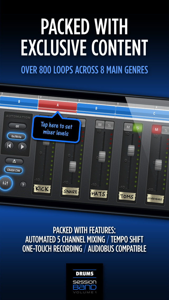 SessionBand Drums 1 screenshot 4